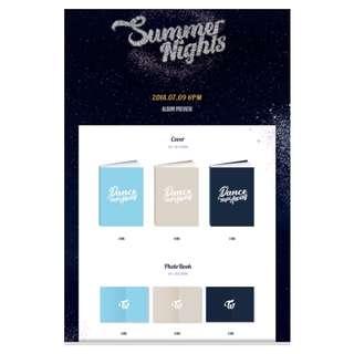 TWICE SUMMER NIGHT
