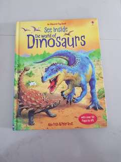 Usborne - See inside the world of dinosaur