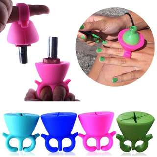 🦋Durable Silicone Nail Polish Wearable Bottle Holder🦋