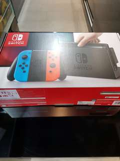 Nintendo Switch (Used) 2 months old
