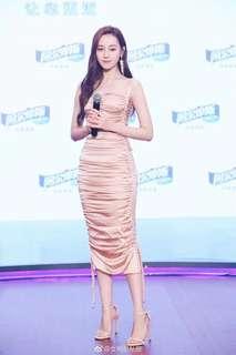 Pink D&G dinner dress