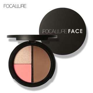 🦋FOCALLURE Natural Makeup Shimmer Powder Makeup Blusher Palette🦋