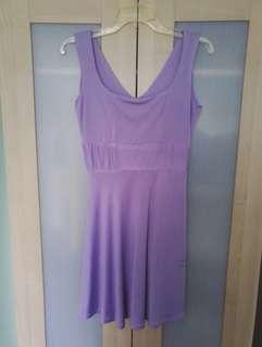 Emcee couture bridemaid purple dress