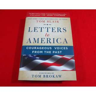 Letters To America by Tom Blair