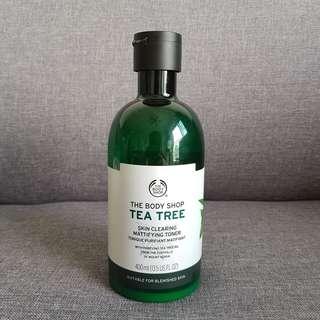 TBS THE BODY SHOP TEA TREE TONER (Acne Skin Care Jerawat)