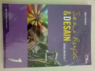 Buku Pelajaran SMA - Seni Rupa & Desain