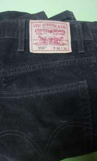Levi's 558 Original Relaxed straight corduroy