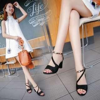 Gold Embedded Heels
