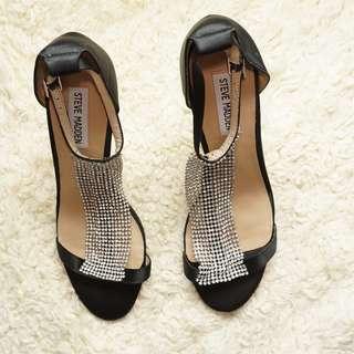 Steve Madden High Heels Sandals (Black)