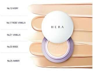 🚚 Hera UV Mist Cushion + Refill SPF50+/PA+++