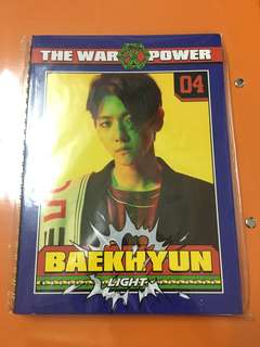 EXO Baekhyun Notebook Power