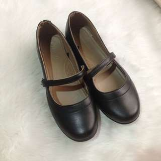 Parisian Black Leather Shoes