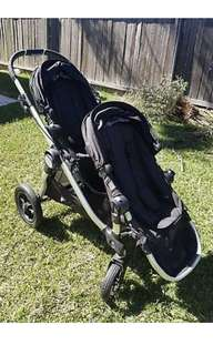 Baby Jogger City Select Double Buggy / Stroller