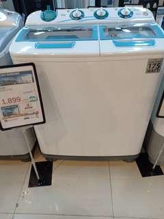 Sanken mesin cuci semi auto