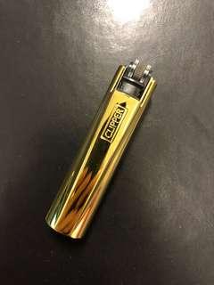 CLIPPER- Gold Metal lighter