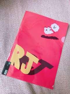 【 BT21 】 RJ FOLDER BTS JIN