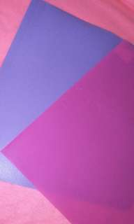 Pastel And Neon Colored Folders
