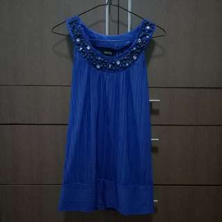 Blue Sabella Top