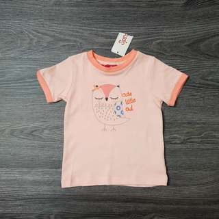 Sprout baby girls tee