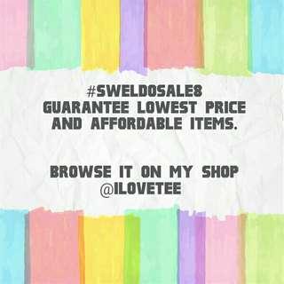 CAROUSELL #SWELDOSALE8