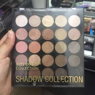 City Color Everyday Neutrals Eyeshadow Palette