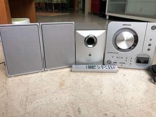 German Medion Speaker + Reciever