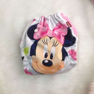 Authentic Minnie Mouse Cloth Diaper
