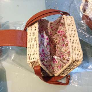 Square Rattan bags ON HAND