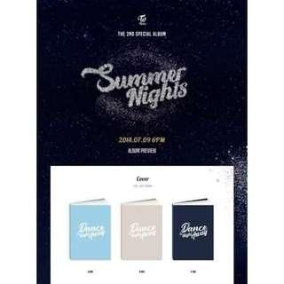 Twice Special Album Vol. 2 Summer Nights