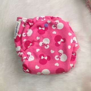 Minnie Mouse Pink Cloth Diaper