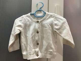 Baby Cardigan 0-6mo
