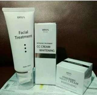 Paket perawatan wajah Ertos