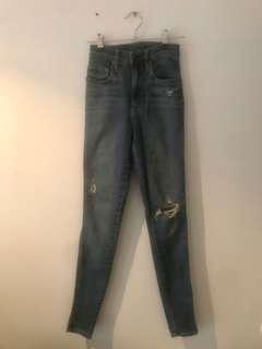 Nobody denim ripped jeans