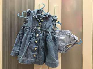 Baby Gap dress (0-3 mo)