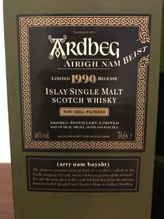 Ardbeg 1990 Nam Biest Limited Edition