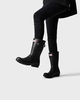 Black Hunter Boots (beautiful rain boots)