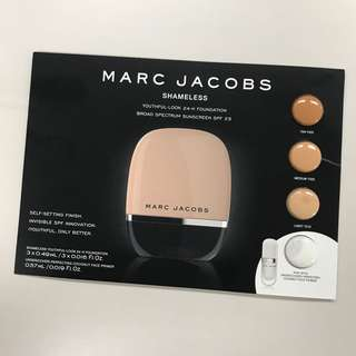 Marc Jacobs Shameless 24-H Foundation Sample