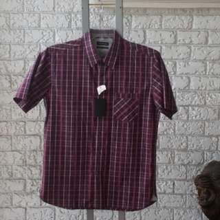 NEW WITH TAG, Wharton Blue Chip Checkered Size Large