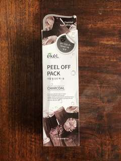 Ekel Peel Off Charcoal Pack