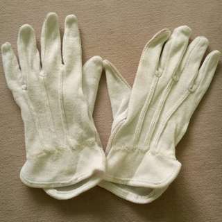 Cotton White Gloves Mickey Mouse Marching