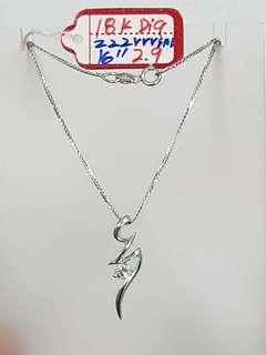 whitegold w/ titus pendant