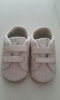 2 pairs Addias and Max Kool Baby Shoes