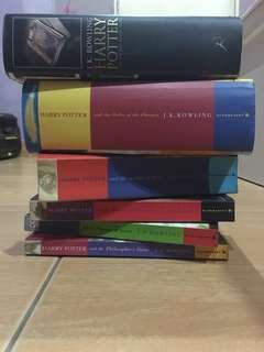 (4left) Harry Potter Book Series Set
