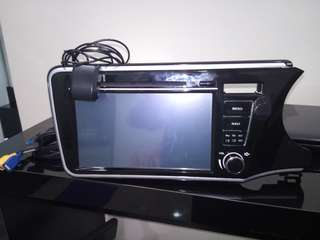 GPS and DVD player for Honda City 2014