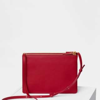 Celine trio big size in red