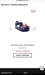 Mini Melissa Fabula Preloved