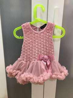 Good quality princess tutu dress for 6-9mo (retail px rm350)