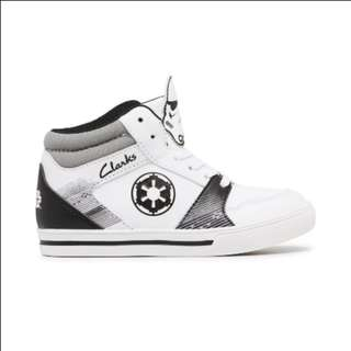 CLARKS TODDLER - STAR WARS STORM TROOPER (HI TOP)