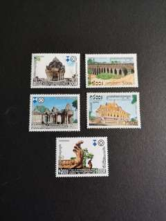 B32  Stamps  柬埔寨邮票