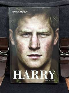《New Book Condition + Prince Harry Biography》Marcia Moody - HARRY: A BIOGRAPHY